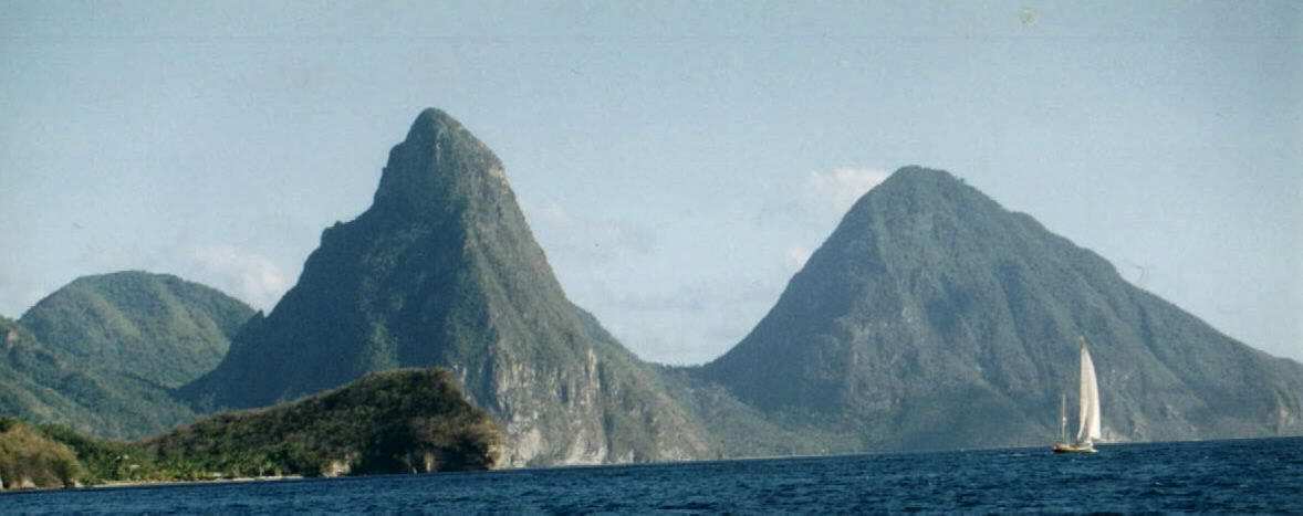 St. Lucia's dramatic Pitons